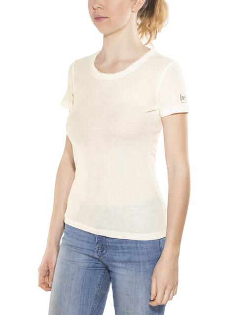 super.natural Scarlett Rib SS 165 Women Fresh White